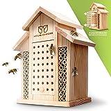 Nature Conform Insektenhotel Naturholz - Bienenhotel...