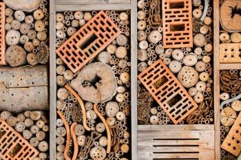 Ziegel für Insektenhotel